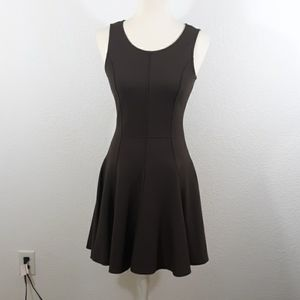 Halston Heritage Brown Dress sz 4.